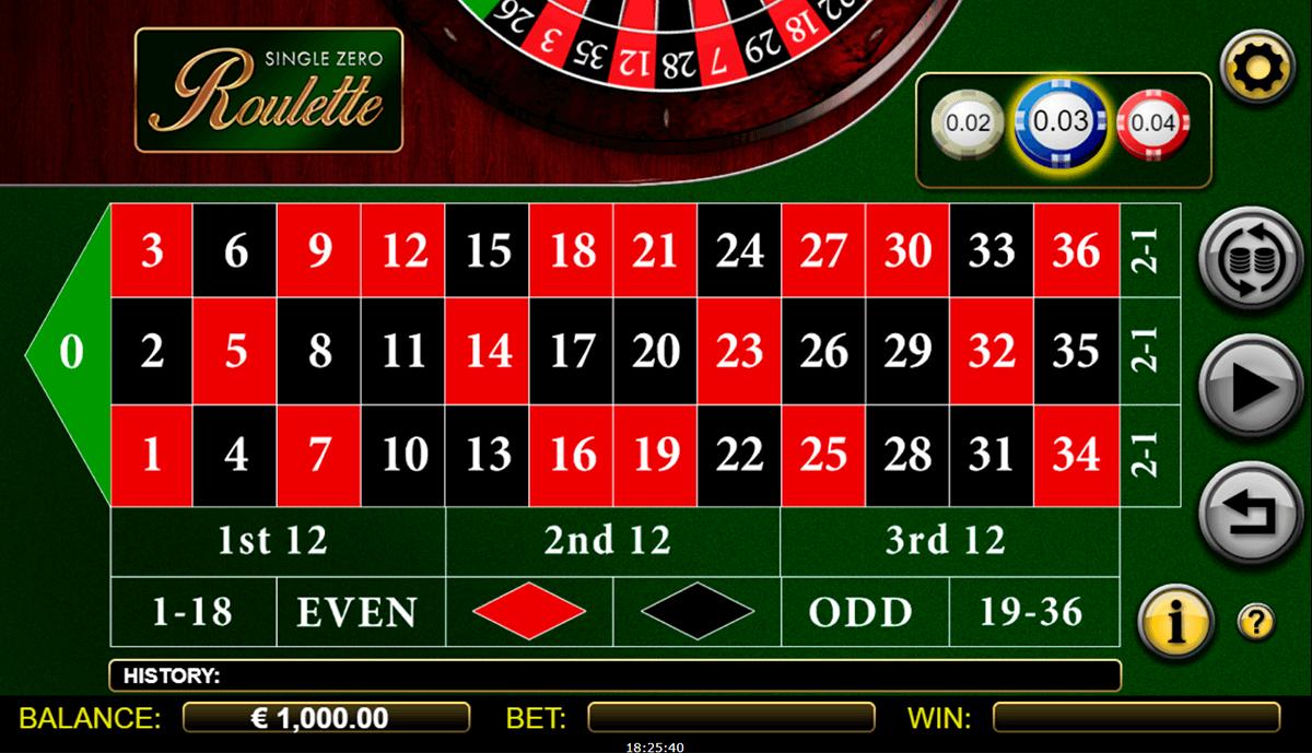 Roulette Zero Spiel - 813176