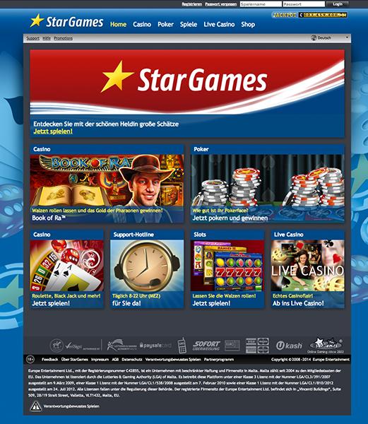 Bonus bei stargames - 306680