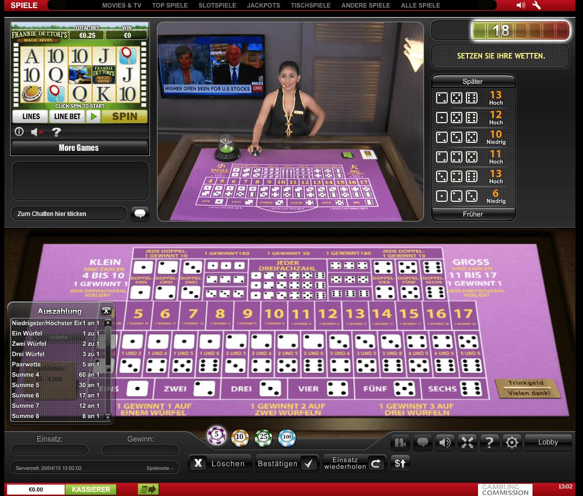 Live Dealer bei - 637349