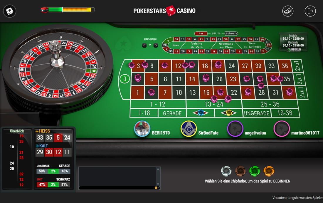 Europäisches Roulette - 544869