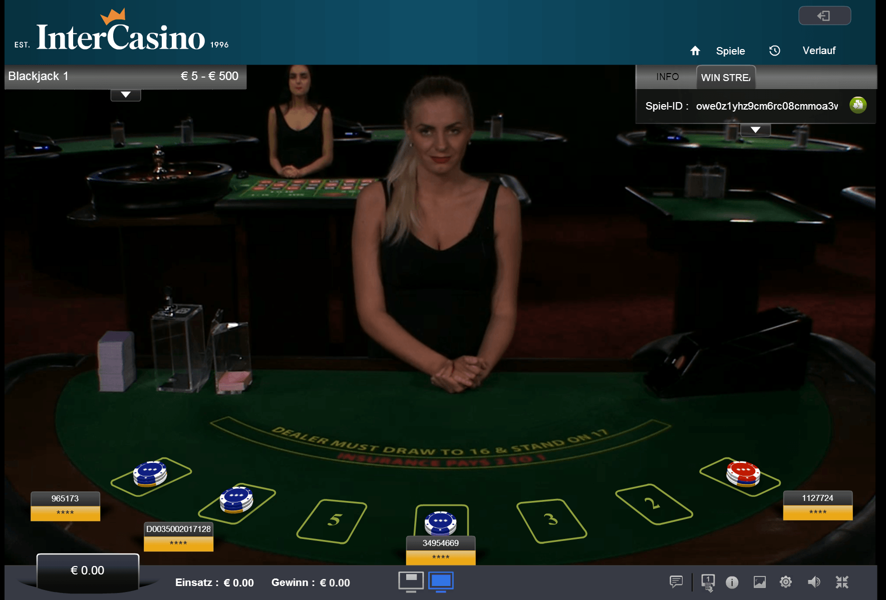 Live Casino Deutschland - 377266