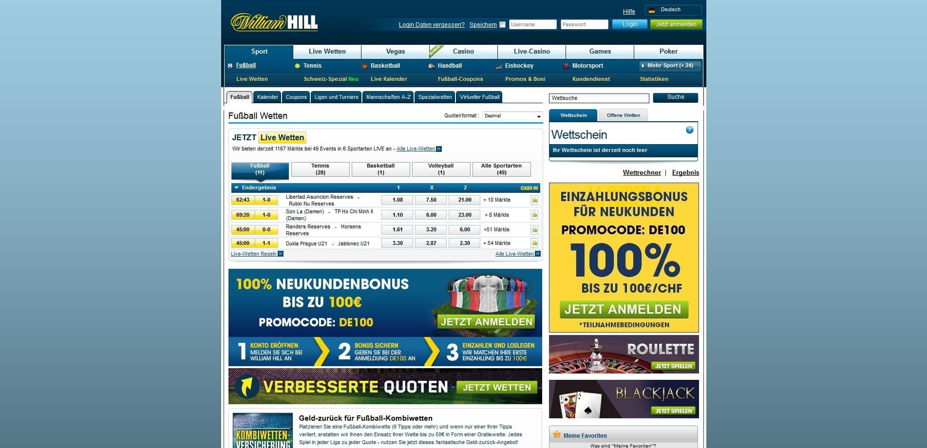 William Hill Fussball - 452401