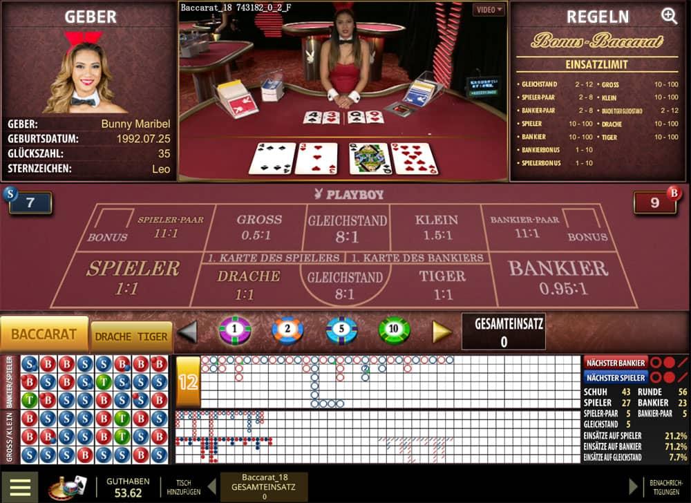 Baccarat online Casino - 391163