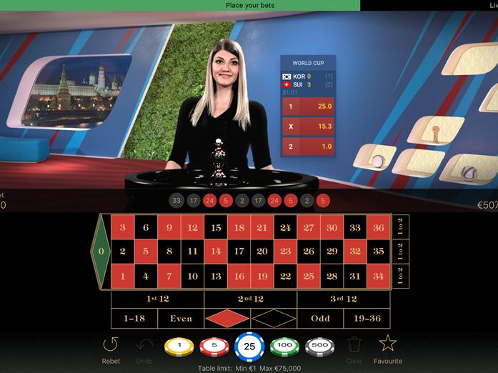 Neues Live Casino - 386477