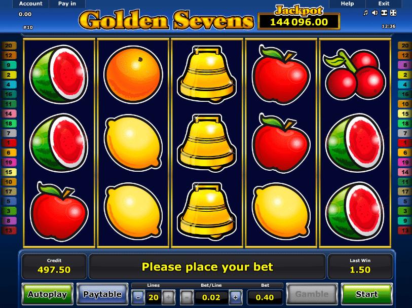 Spielautomaten rechnen Golden - 175131
