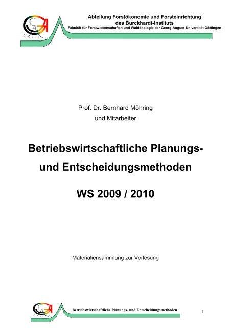 Spieltheorie Lösungskonzepte - 960980