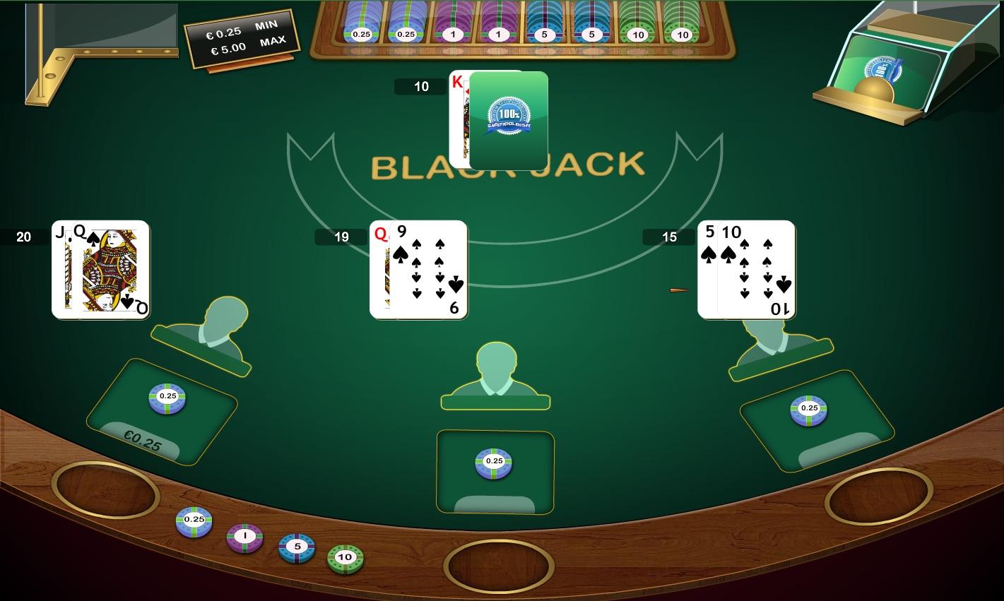 Blackjack Spielgeld - 125342