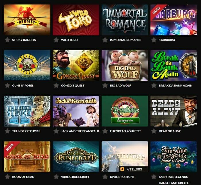 Casino Bonus - 30068