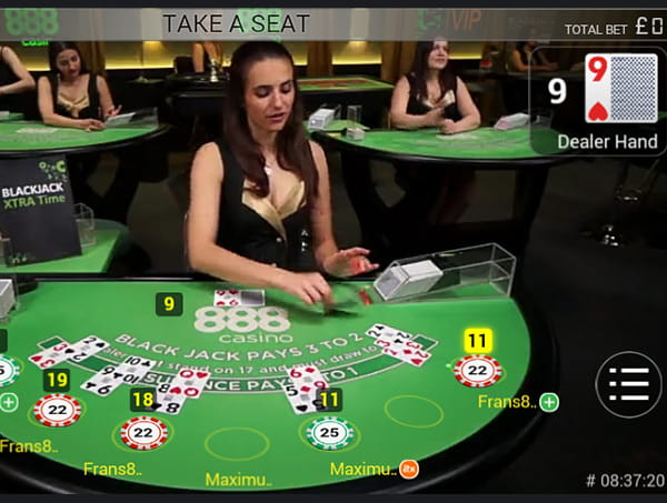 Beste Live Blackjack - 183440