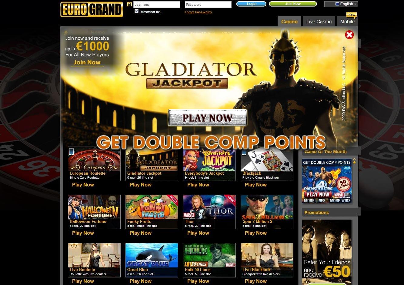 Eurogrand Casino - 799099