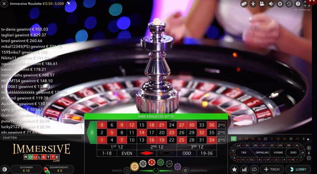 Roulette Rot Schwarz - 880437
