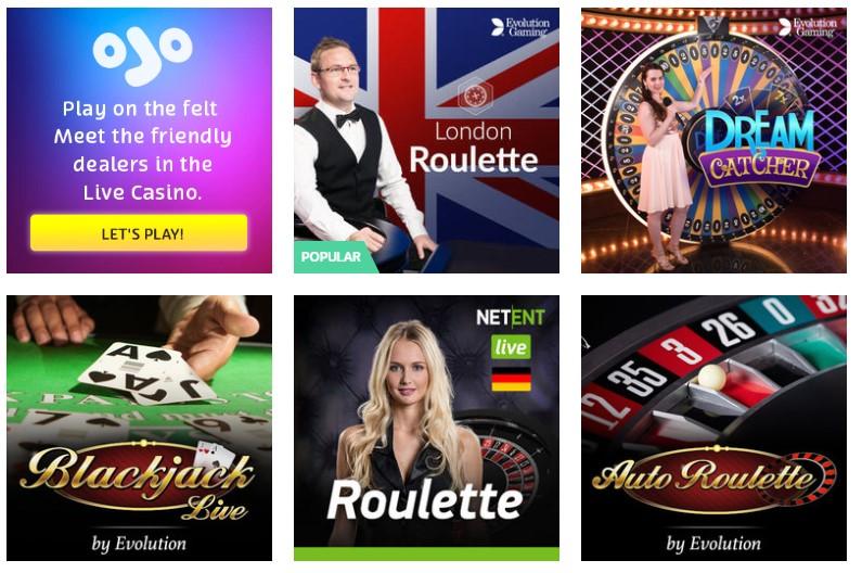 Live Roulette - 106570