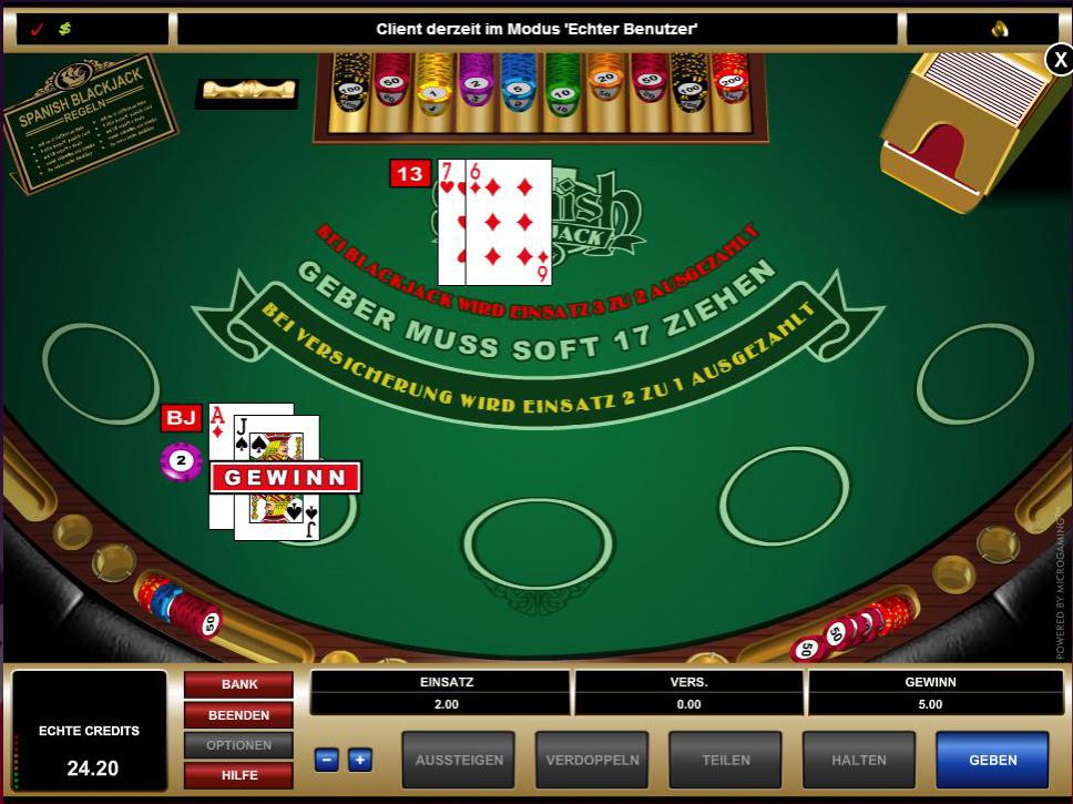 Blackjack Spielgeld Casino - 755639