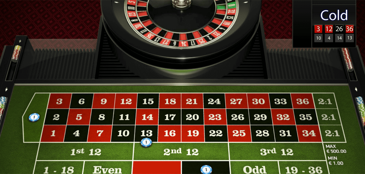 Roulette Rot - 577780