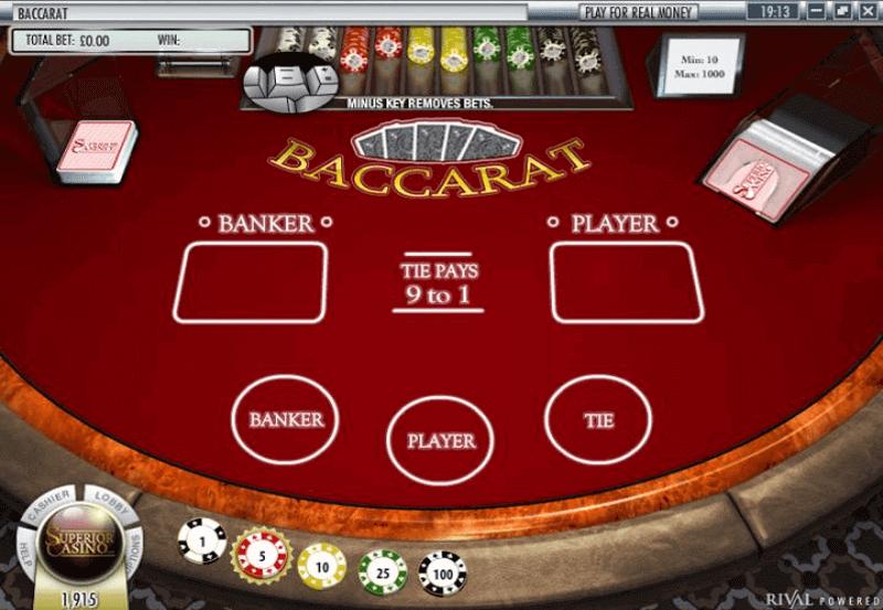 Baccarat online Casino - 231164