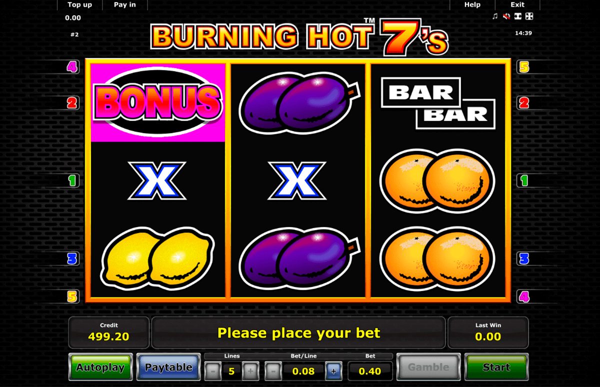 Burning Hot online - 906710