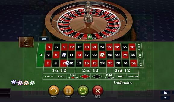 Roulette Auszahlungsquoten Informationen - 135799