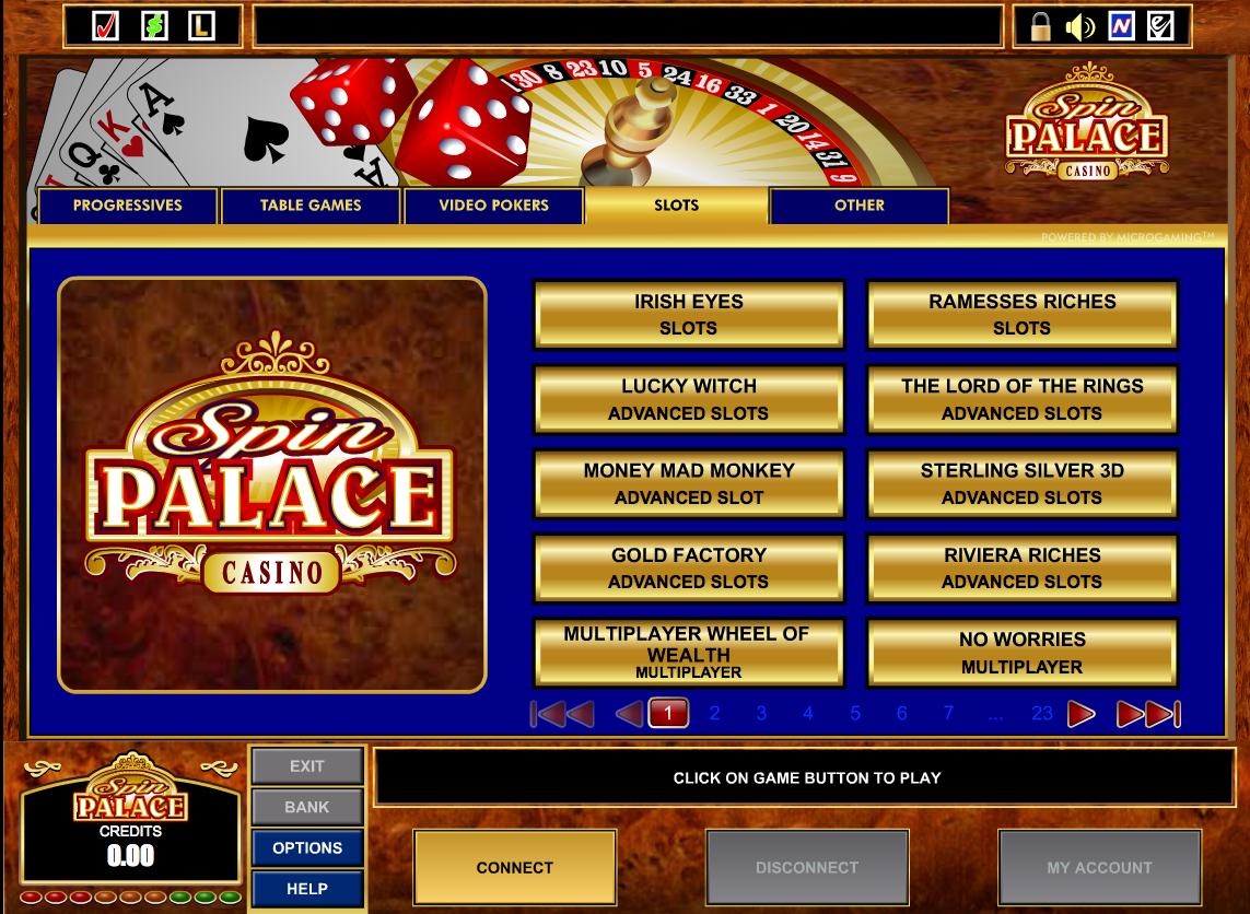 Spin Palace Casino - 912399