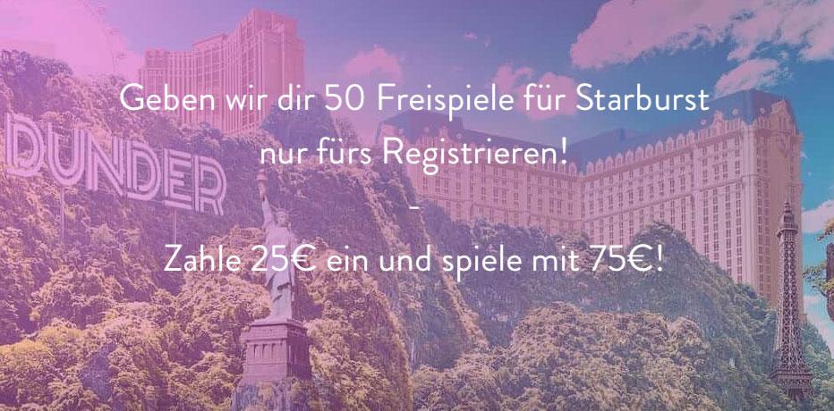 50 Freispiele - 57732