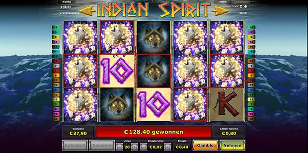 Einsatzerhöhung Indian Spirit - 471764