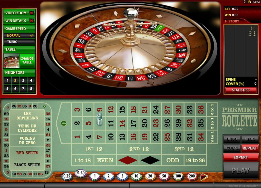 Europäisches Roulette - 529632