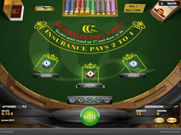 Blackjack Begriffe - 129099