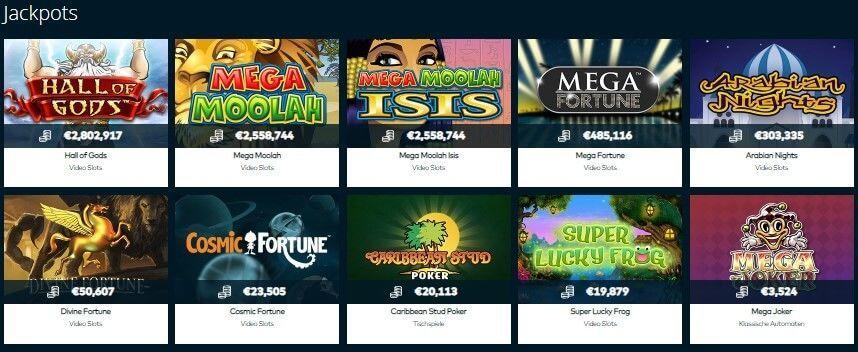 Jackpots spielen LuckLand - 987586