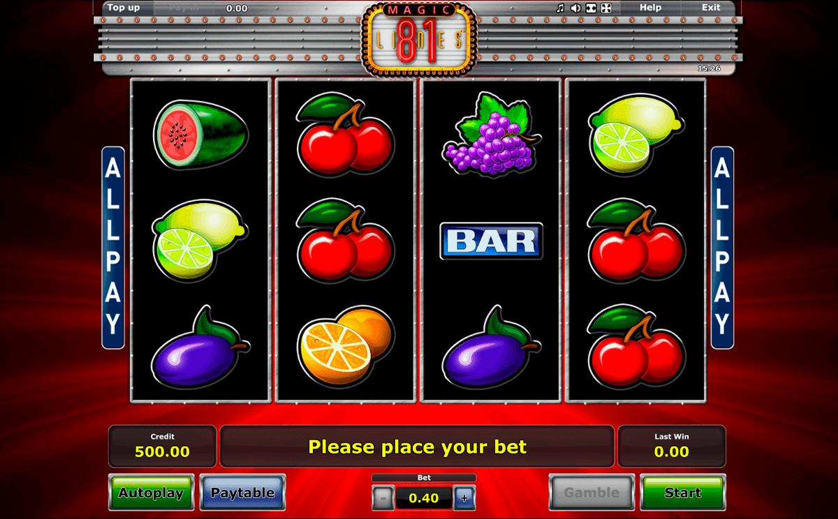 Klassische Spielautomaten - 519163