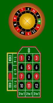 Roulette Zero Spiel - 73041