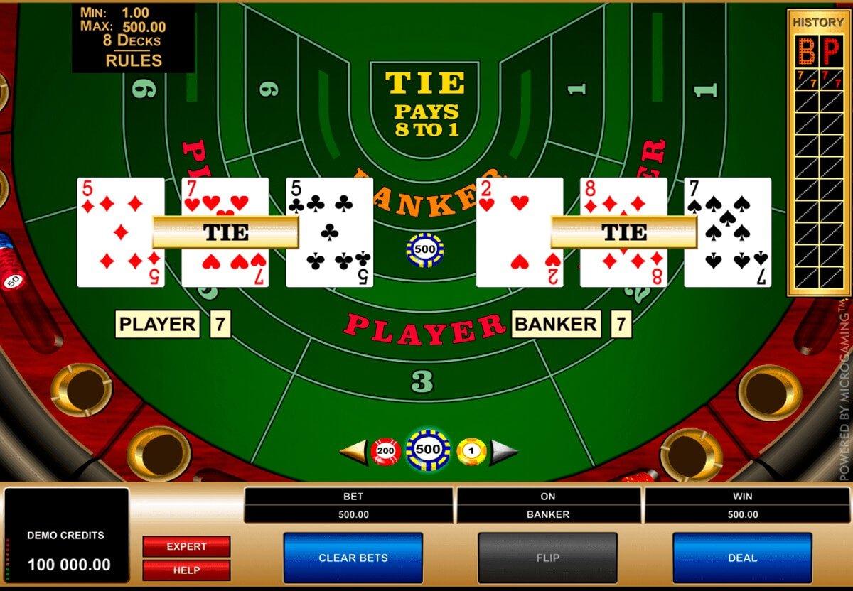 Slot Automaten Baccarat - 175667