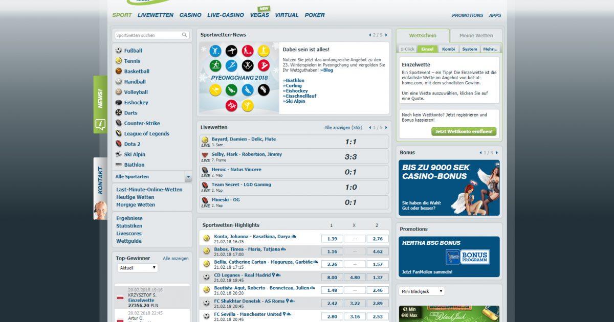 Sportwetten Bonus - 749218