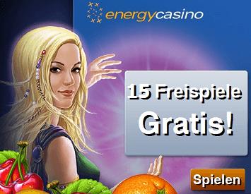 Willkommens Bonus Energy - 58293